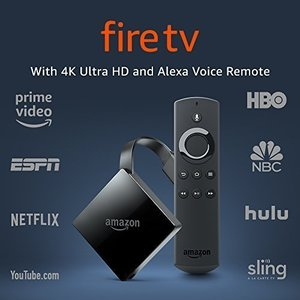 Fire TV with 4K Ultra HD and Alexa Voice Remote (Pendant Design)